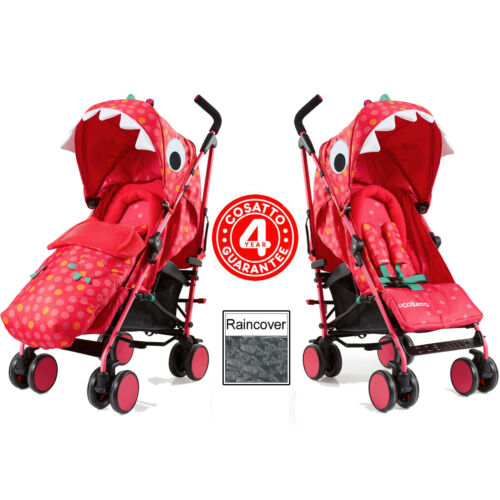 Brand new Cosatto supa 3 pushchair in Dino Mighty with Footmuff and Raincover